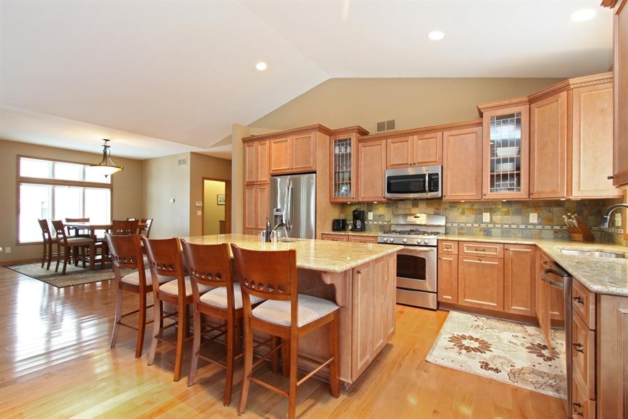 Real Estate Photography - 681 Cottage Lane, Hudson, WI, 54016 - Kitchen / Dining Room