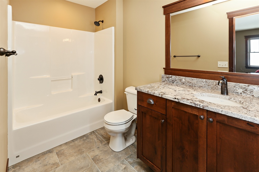 Real Estate Photography - 582 Schwalen DR, Hudson, WI, 54016 - 3rd Bathroom