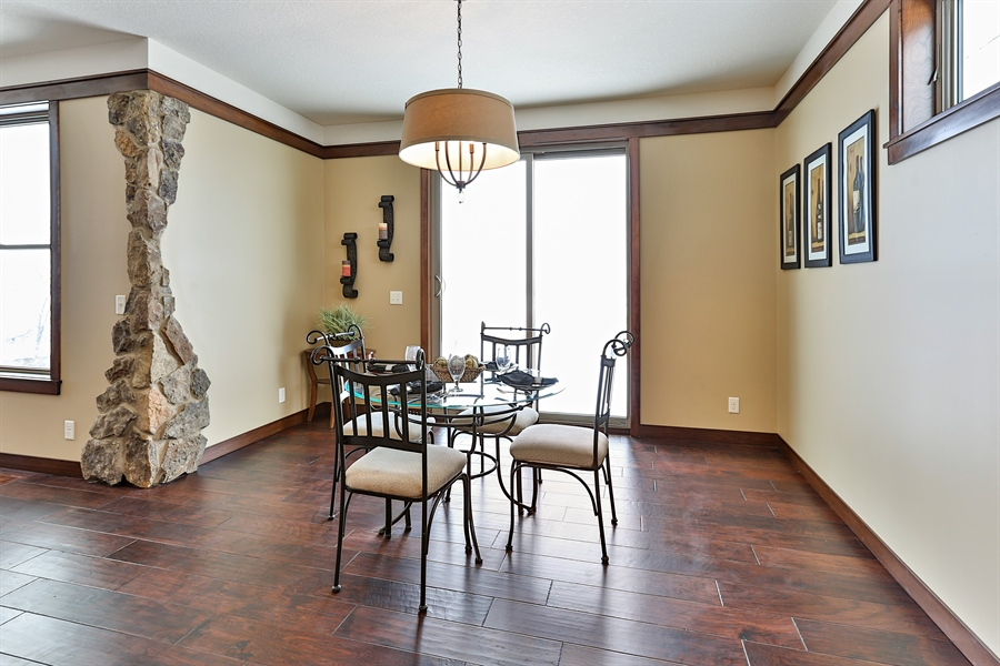 Real Estate Photography - 582 Schwalen DR, Hudson, WI, 54016 - Dining Room