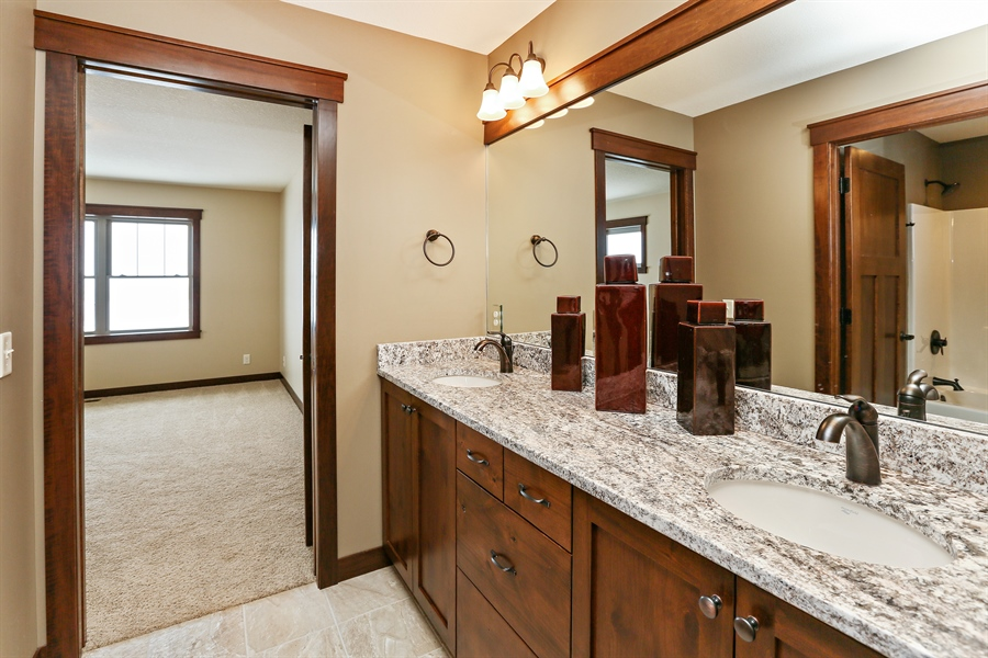 Real Estate Photography - 582 Schwalen DR, Hudson, WI, 54016 - 2nd Bathroom