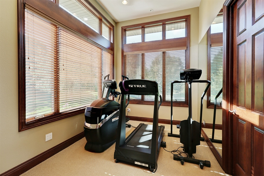 Real Estate Photography - 9720 Towering Oaks, Prior Lake, MN, 55372 - Exercise Room