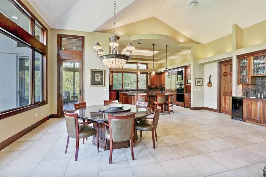 Real Estate Photography - 9720 Towering Oaks, Prior Lake, MN, 55372 - Dining Room