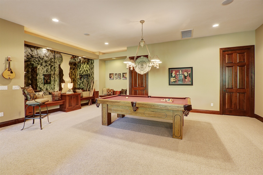 Real Estate Photography - 9720 Towering Oaks, Prior Lake, MN, 55372 - Entertainment Room