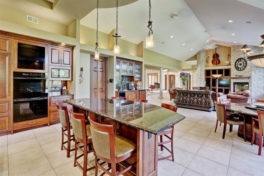 Real Estate Photography - 9720 Towering Oaks, Prior Lake, MN, 55372 - Living Room / Kitchen