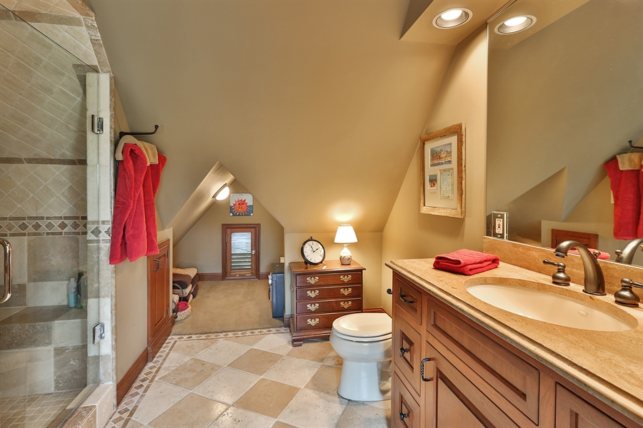 Real Estate Photography - 5709 Clinton Ave S, Minneapolis, MN, 55419 - Master Bathroom