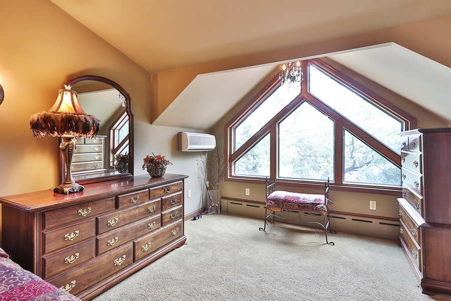 Real Estate Photography - 5709 Clinton Ave S, Minneapolis, MN, 55419 - Master Bedroom Window Detail