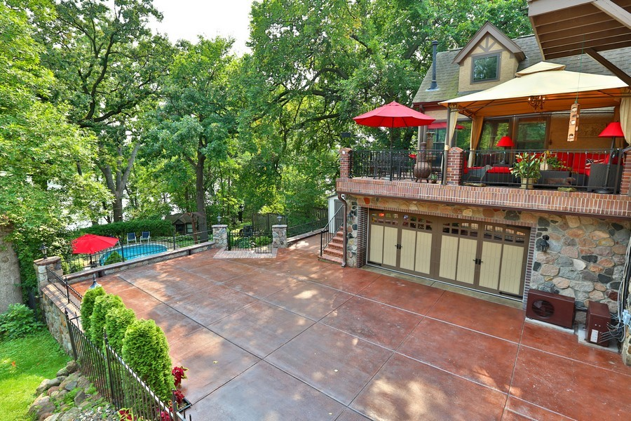 Real Estate Photography - 5709 Clinton Ave S, Minneapolis, MN, 55419 - View from Neighboring balcony