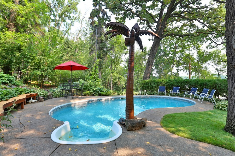Real Estate Photography - 5709 Clinton Ave S, Minneapolis, MN, 55419 - Pool Detail close up