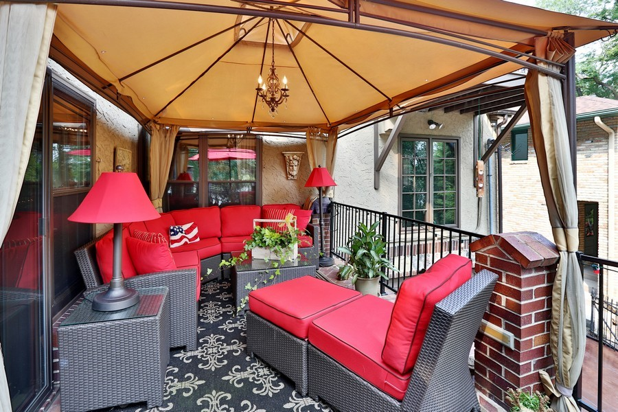 Real Estate Photography - 5709 Clinton Ave S, Minneapolis, MN, 55419 - Covered Patio Area