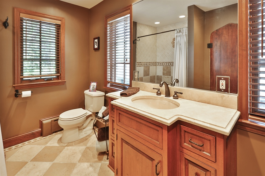 Real Estate Photography - 5709 Clinton Ave S, Minneapolis, MN, 55419 - Bathroom