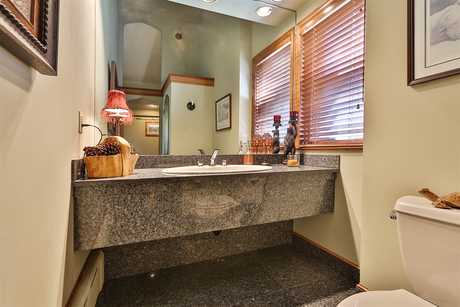Real Estate Photography - 5709 Clinton Ave S, Minneapolis, MN, 55419 - Main Level 1/2 Bath