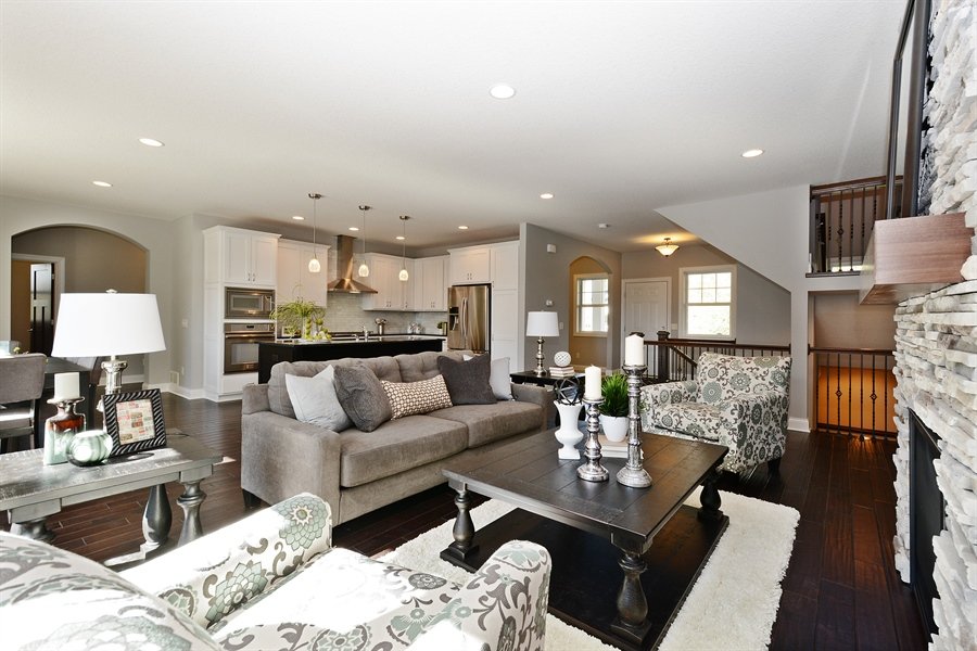 Real Estate Photography - 12151 Sunnybrook Rd, Eden Prairie, MN, 55347 - Living Room