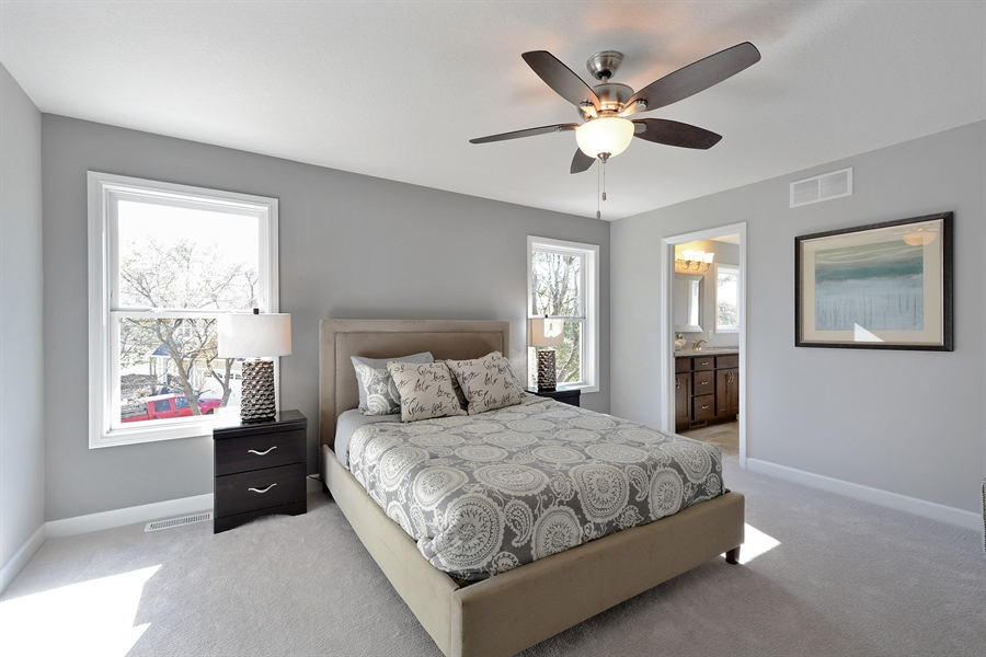 Real Estate Photography - 12151 Sunnybrook Rd, Eden Prairie, MN, 55347 - Master Bedroom