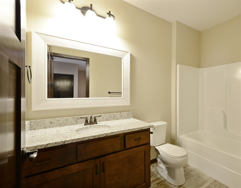 Real Estate Photography - 12151 Sunnybrook Rd, Eden Prairie, MN, 55347 - Bathroom