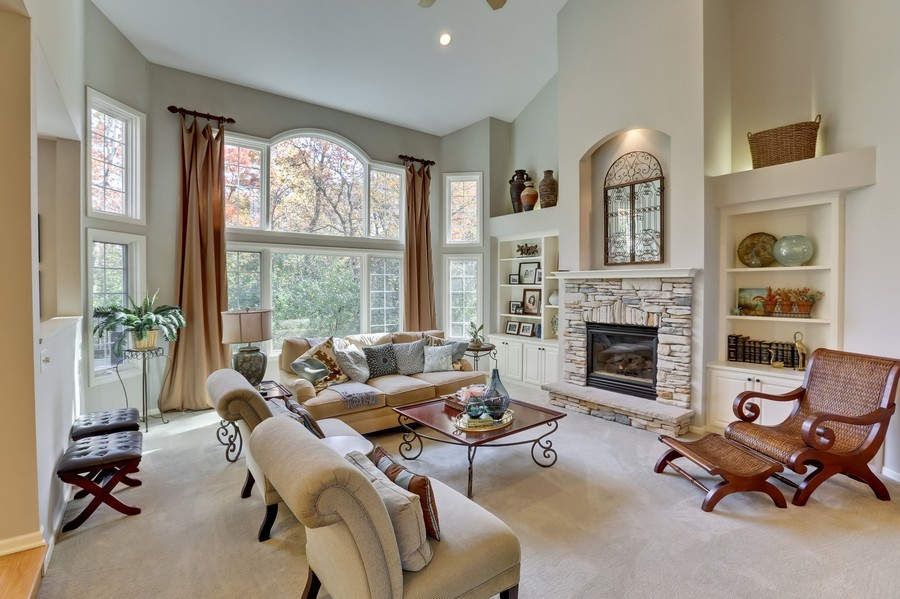 Real Estate Photography - 18234 Jacquard Path, Lakeville, MN, 55044 - Living Room