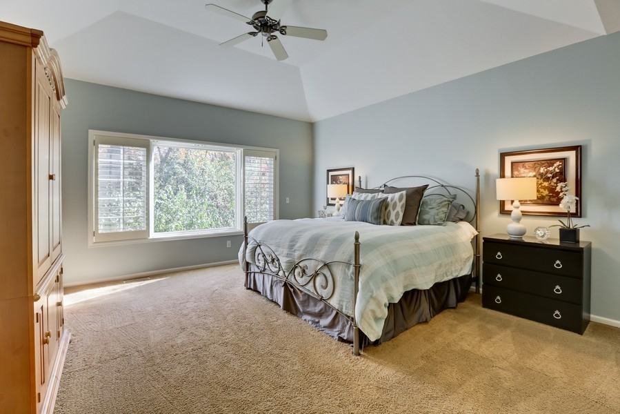 Real Estate Photography - 18234 Jacquard Path, Lakeville, MN, 55044 - Master Bedroom