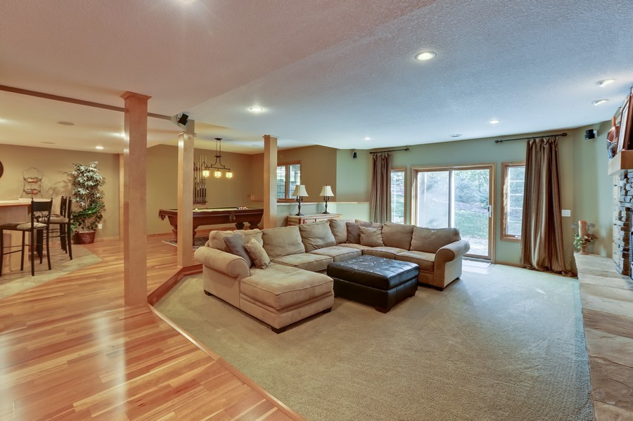 Real Estate Photography - 18234 Jacquard Path, Lakeville, MN, 55044 - Lower Level