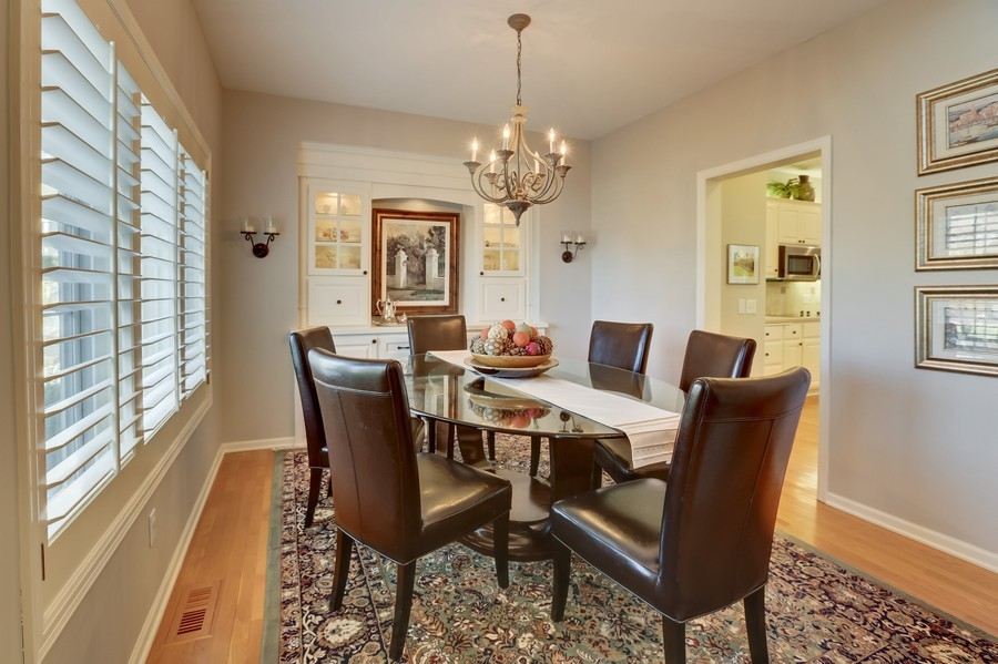 Real Estate Photography - 18234 Jacquard Path, Lakeville, MN, 55044 - Dining Room
