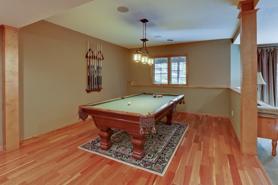 Real Estate Photography - 18234 Jacquard Path, Lakeville, MN, 55044 - Entertainment Room