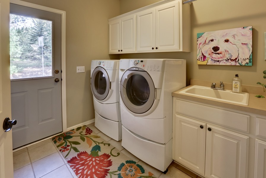 Real Estate Photography - 18234 Jacquard Path, Lakeville, MN, 55044 - Laundry Room