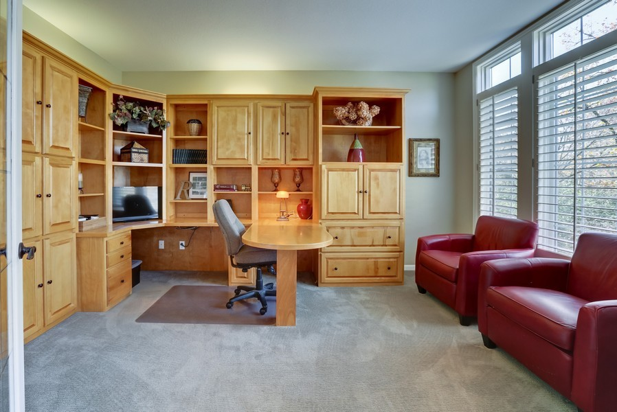Real Estate Photography - 18234 Jacquard Path, Lakeville, MN, 55044 - Office