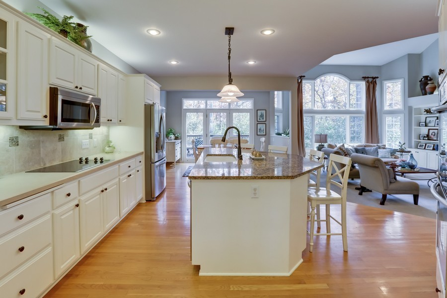 Real Estate Photography - 18234 Jacquard Path, Lakeville, MN, 55044 - Kitchen / Dining Room