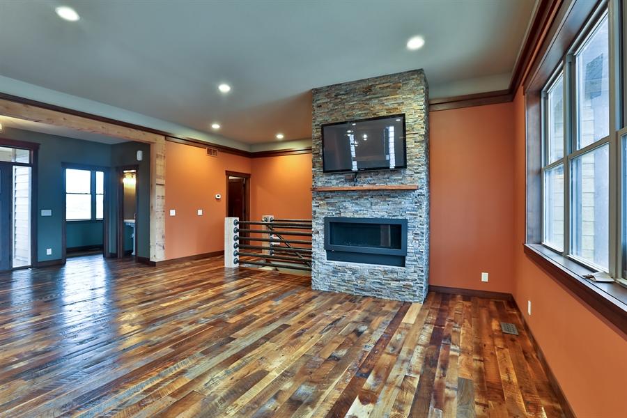 Real Estate Photography - 593 Schwalen Dr, Hudson, WI, 54016 - Living Room