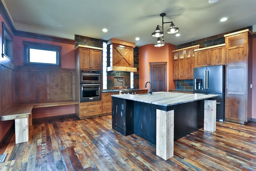 Real Estate Photography - 593 Schwalen Dr, Hudson, WI, 54016 - Kitchen