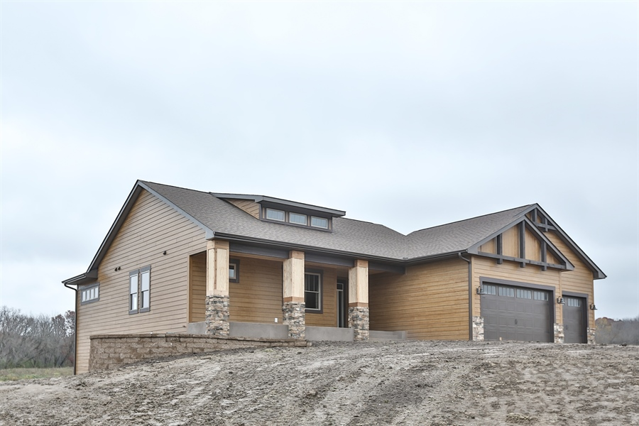 Real Estate Photography - 593 Schwalen Dr, Hudson, WI, 54016 - Front View