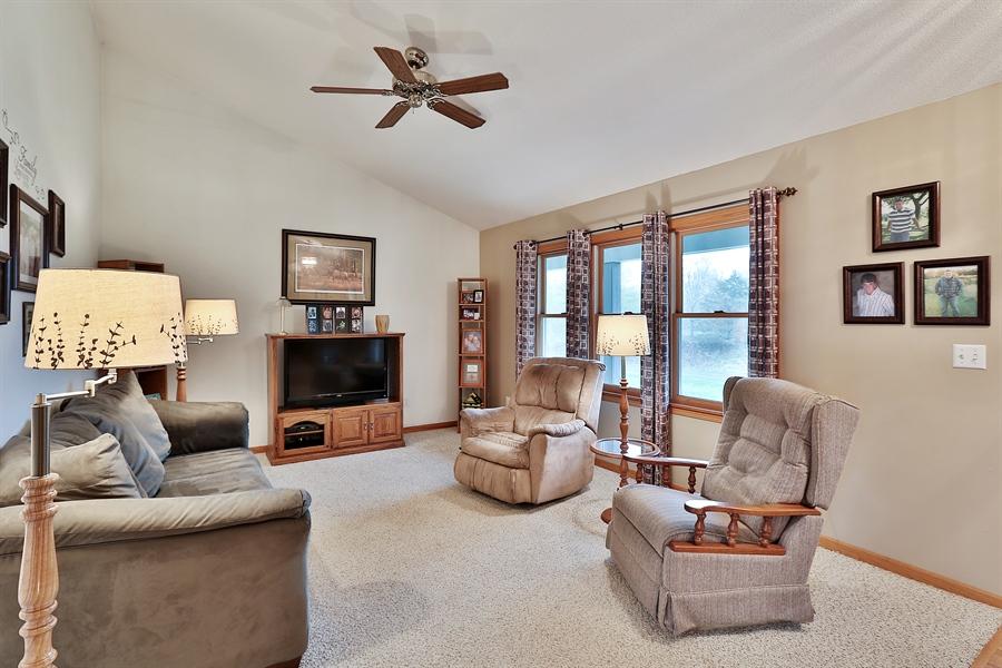 Real Estate Photography - 1060 Cottonwood Dr, Hudson, WI, 54016 - Living Room