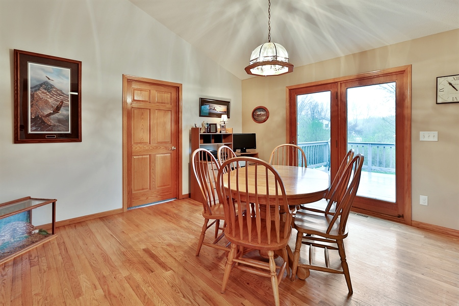 Real Estate Photography - 1060 Cottonwood Dr, Hudson, WI, 54016 - Dining Room