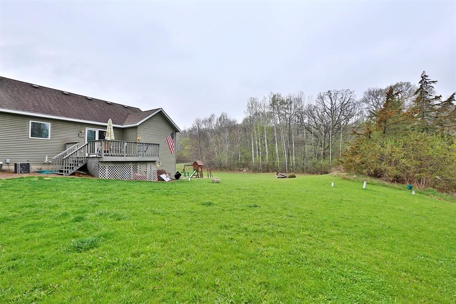 Real Estate Photography - 1060 Cottonwood Dr, Hudson, WI, 54016 - Back Yard