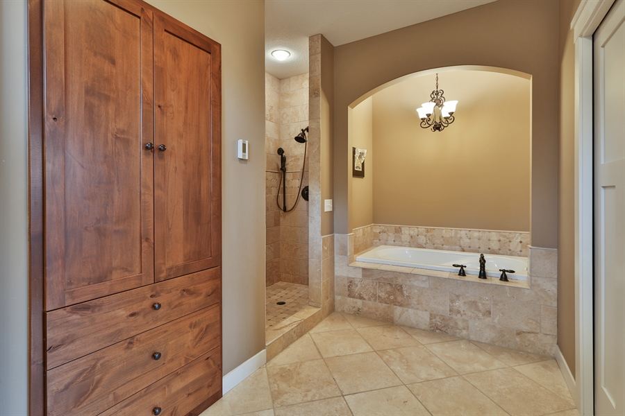 Real Estate Photography - 369A Milwaukee Rd, Hudson, WI, 54016 - Master Bathroom