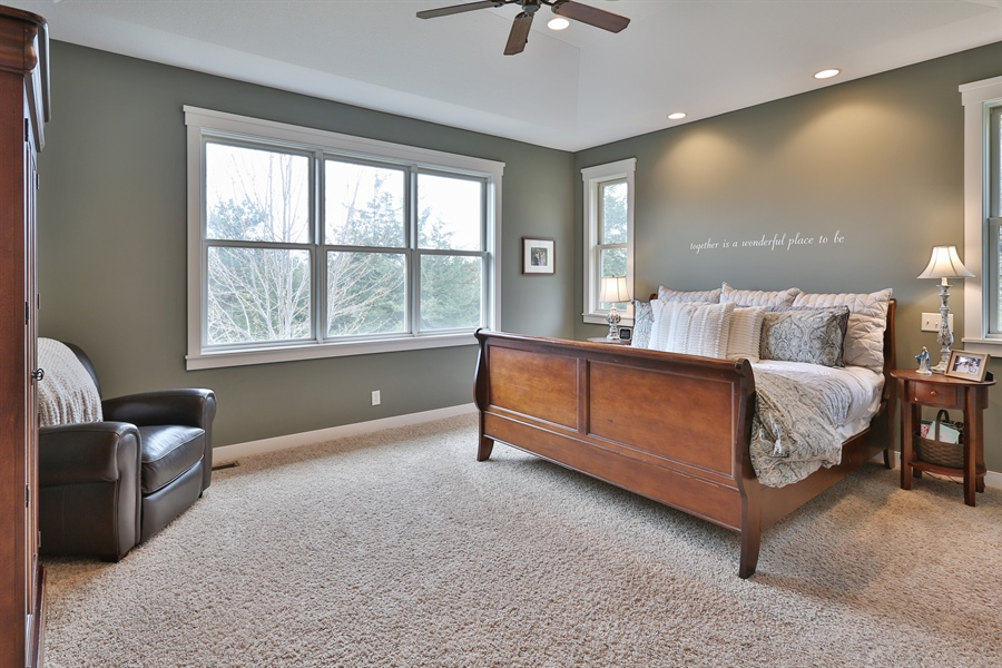 Real Estate Photography - 369A Milwaukee Rd, Hudson, WI, 54016 - Master Bedroom