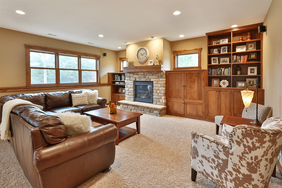 Real Estate Photography - 369A Milwaukee Rd, Hudson, WI, 54016 - Living Rm/Family Rm
