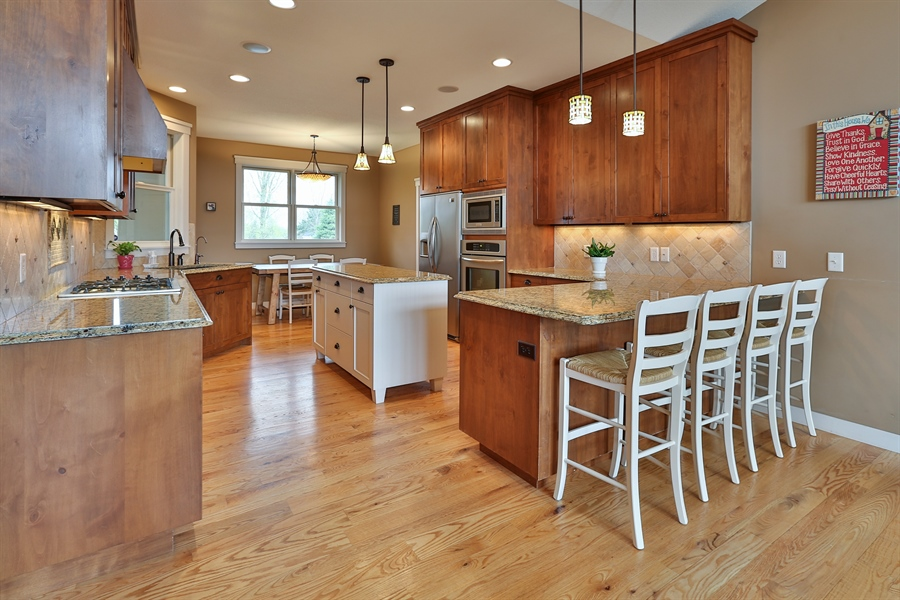 Real Estate Photography - 369A Milwaukee Rd, Hudson, WI, 54016 - Kitchen