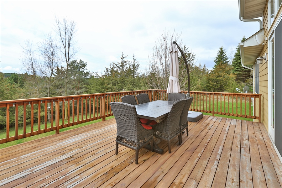 Real Estate Photography - 369A Milwaukee Rd, Hudson, WI, 54016 - Deck