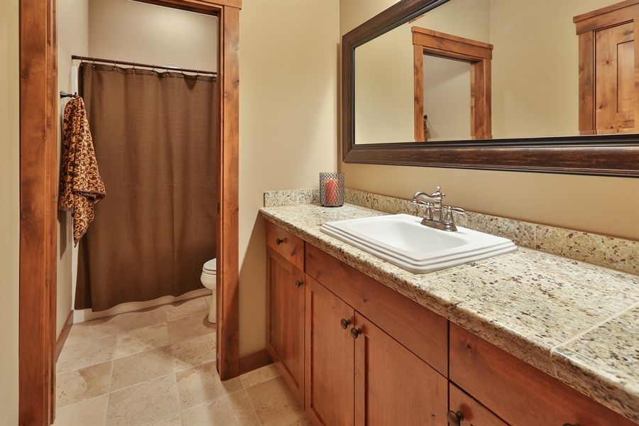 Real Estate Photography - 369A Milwaukee Rd, Hudson, WI, 54016 - 2nd Bathroom