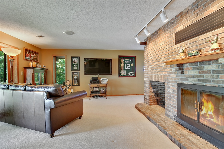 Real Estate Photography - 970 Brave Dr, Somerset, WI, 54025 - Family Room