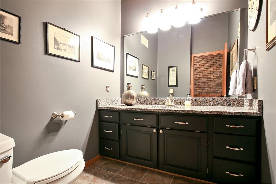 Real Estate Photography - 970 Brave Dr, Somerset, WI, 54025 - 2nd Bathroom