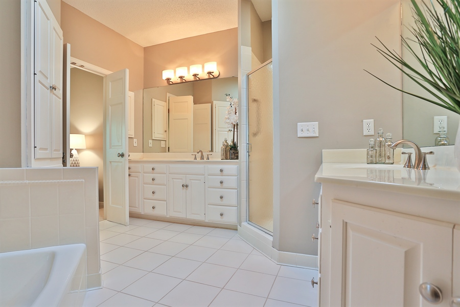 Real Estate Photography - 5040 Malibu Drive, Edina, MN, 55436 - Master Bathroom