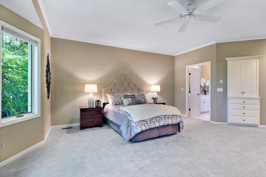 Real Estate Photography - 5040 Malibu Drive, Edina, MN, 55436 - Master Bedroom
