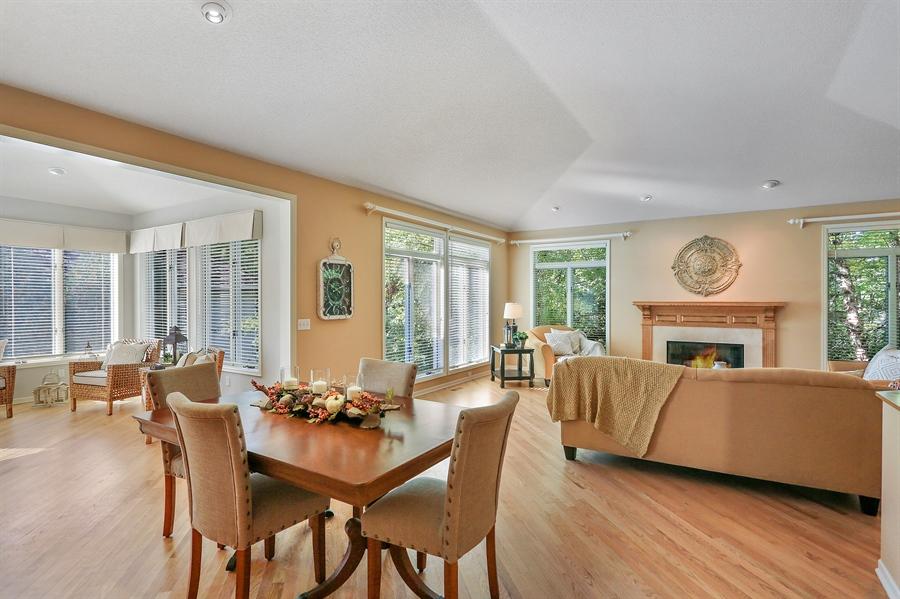 Real Estate Photography - 5040 Malibu Drive, Edina, MN, 55436 - Living Room