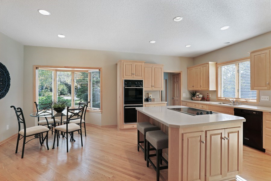 Real Estate Photography - 5040 Malibu Drive, Edina, MN, 55436 - Kitchen