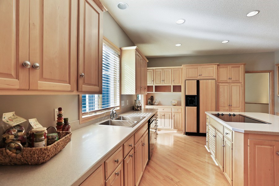 Real Estate Photography - 5040 Malibu Drive, Edina, MN, 55436 - Kitchen
