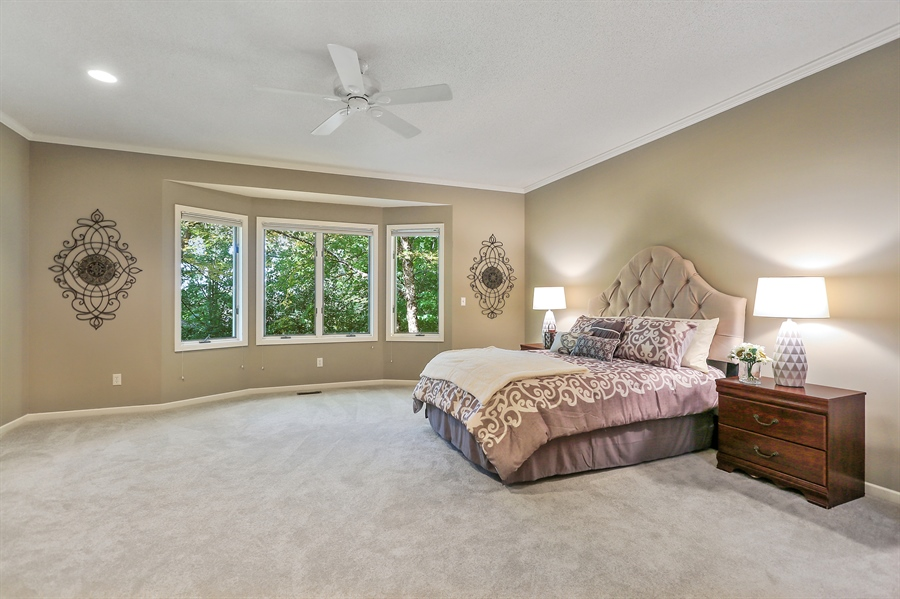 Real Estate Photography - 5040 Malibu Drive, Edina, MN, 55436 - Master Bedroom