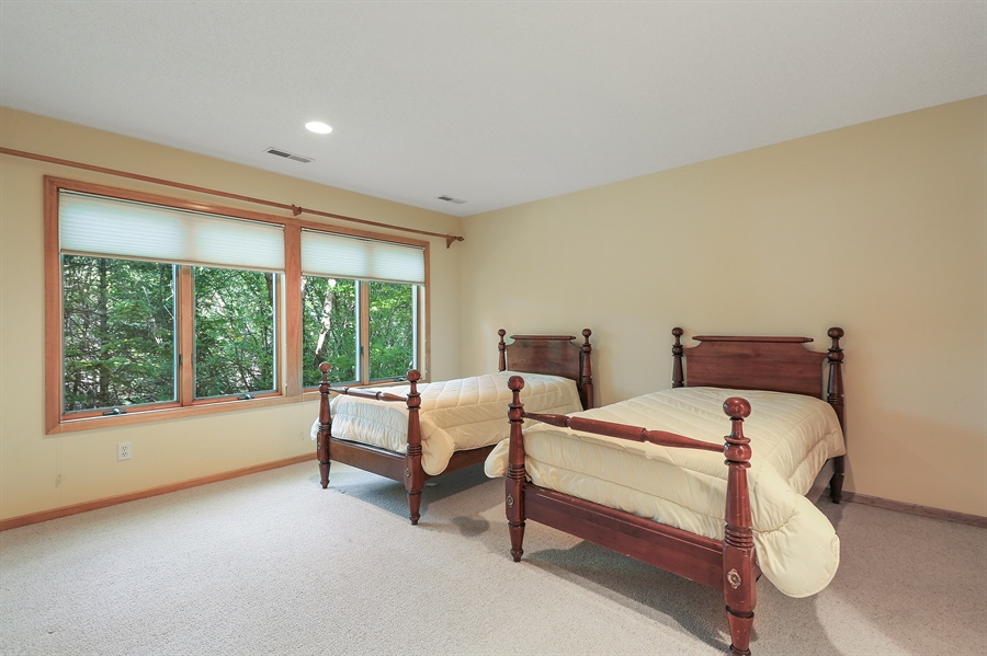 Real Estate Photography - 5040 Malibu Drive, Edina, MN, 55436 - Bedroom