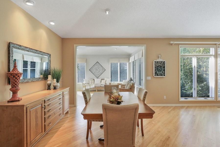 Real Estate Photography - 5040 Malibu Drive, Edina, MN, 55436 - Dining Room