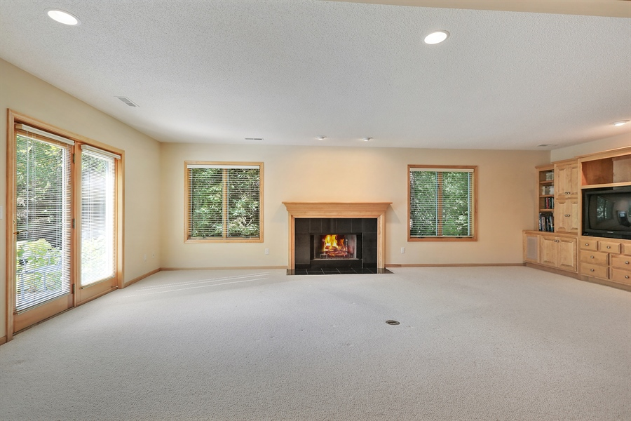 Real Estate Photography - 5040 Malibu Drive, Edina, MN, 55436 - Family Room
