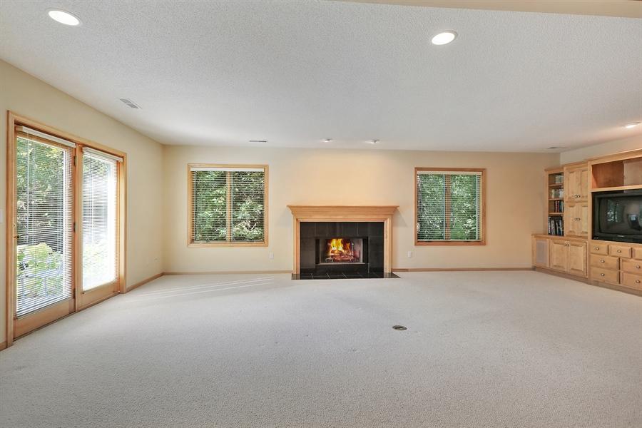 Real Estate Photography - 5040 Malibu Drive, Edina, MN, 55436 - Family Room